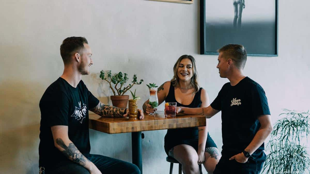 From bartender to global vendor: Jacksonville-based bartending apparel brand goes national